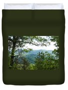 Smoky Mountain View Laurel Falls Trail Duvet Cover