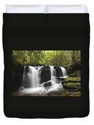 Smoky Mountain Waterfall - D008427 Duvet Cover