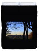 Smoky Mountains At Dusk Duvet Cover