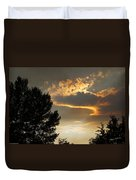 Smoky Summer Afternoon Sky Duvet Cover