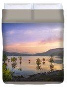 Smoky Sunset Duvet Cover