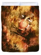 Smoky The Voodoo Clown Doll  Duvet Cover