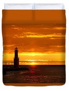 Smoldering Sunrise Duvet Cover
