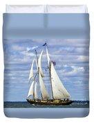 Smooth Sailing Duvet Cover