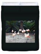 Smudgestick Flamingos Duvet Cover