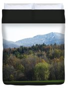 Smugglers Notch From Cambridge Vermont Duvet Cover