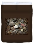 Snail Among The Rocks Duvet Cover