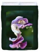 Snail Flower Duvet Cover