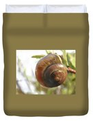 Snail Watercolor - Digital Painting Effect Duvet Cover