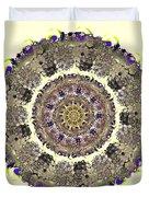 Snake Mandala Duvet Cover