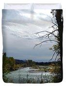 Snake River Duvet Cover