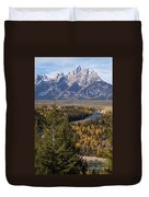 Snake River Overlook One Duvet Cover