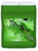 Snake Skin Plant Duvet Cover