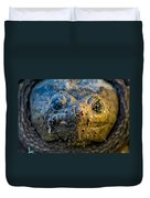Snapping Turtle Duvet Cover