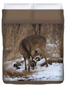 Sniffing Stag Duvet Cover