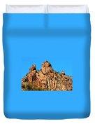 Snoopy Rock - Sabino Canyon Tucson Arizona  Duvet Cover