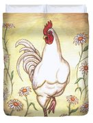 Snooty The Rooster Two Duvet Cover