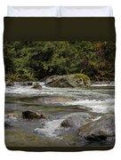 Snoqualmie Rapids Washington Duvet Cover