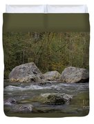 Snoqualmie River Duvet Cover
