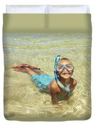 Snorleing Boy Duvet Cover by Kicka Witte