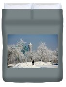 Snow And Ice Duvet Cover
