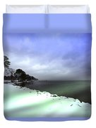Snow And Sand Unite Duvet Cover