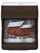 Snow Barn II Duvet Cover