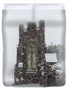 Snow Duvet Cover