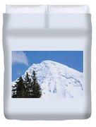 Snow Cone Mountain Top Duvet Cover