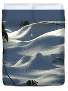 Snow Dunes Duvet Cover
