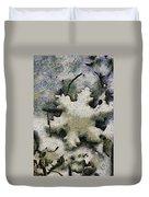 Snow Flake 04 Photo Art Duvet Cover