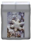 Snow Flake Enjoy The Beauty Photo Art Duvet Cover