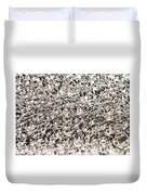 Snow Geese Blast Off Duvet Cover