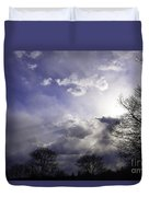 Snow Is In The Air Duvet Cover