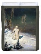 Snow Maiden 1899 By Vasnetsov  Duvet Cover by Movie Poster Prints
