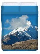 Snow Mountain Duvet Cover