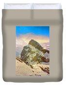 Snow Peaks Of Mount Titlis Duvet Cover