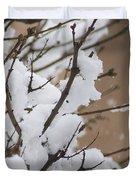 Snow Shower Duvet Cover