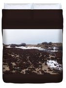 Snow Spotted Dunes Duvet Cover