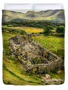 Snowdon Ruin Duvet Cover