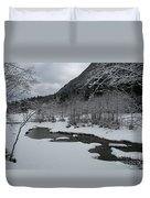 Snowed Under Valley Duvet Cover
