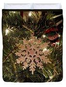 Snowflake Ornament Duvet Cover