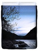 Snowflakes On The River Duvet Cover