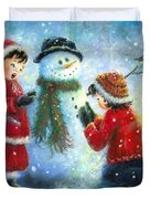 Snowman Song Duvet Cover