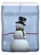 Snowman... Duvet Cover