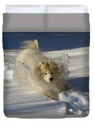 Snowplow Duvet Cover by Lois Bryan