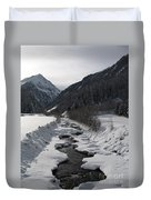 Snowy Creek Duvet Cover