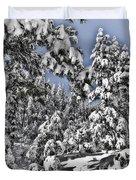 Snowy Dreams  Duvet Cover