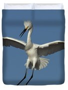 Snowy Egret Photo Duvet Cover