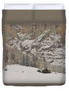 Snowy Duvet Cover